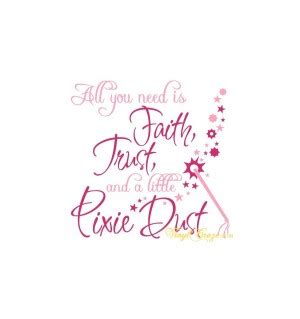 Tinkerbell quotes faith trust and pixie dust voltagebd Choice Image
