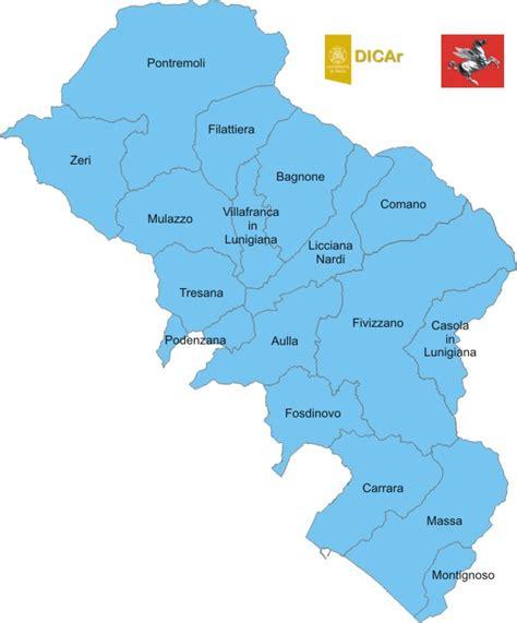 www provincia it banche dati lavoro accelerogrammi di riferimento provincia di massa carrara