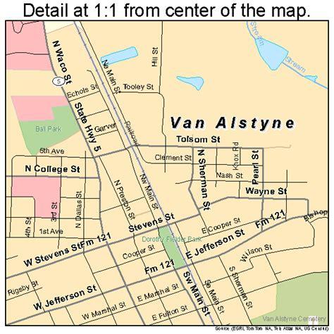alstyne texas map alstyne texas map 4874924
