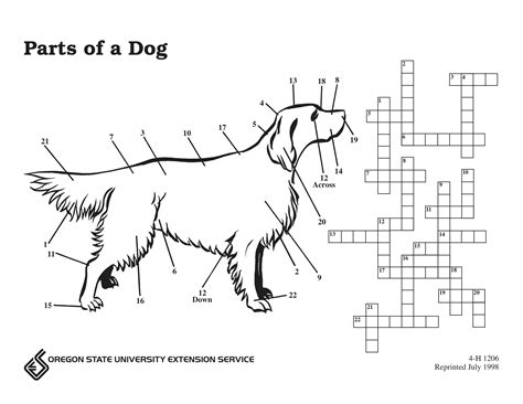 sea dogs crossword parts of a puzzle osu extension catalog oregon state