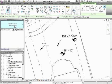tutorial revit architecture 2012 advanced revit architecture 2012 tutorial spot elevation