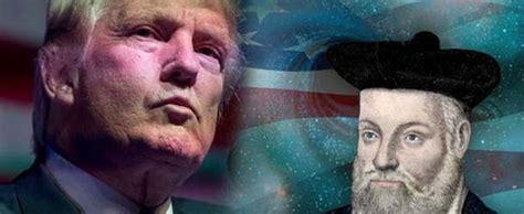 donald trump nostradamus nostradamus predicted donald trump as being president of