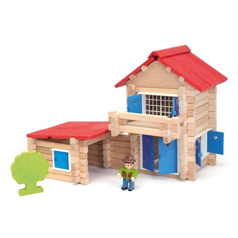 jouet maison en bois jura