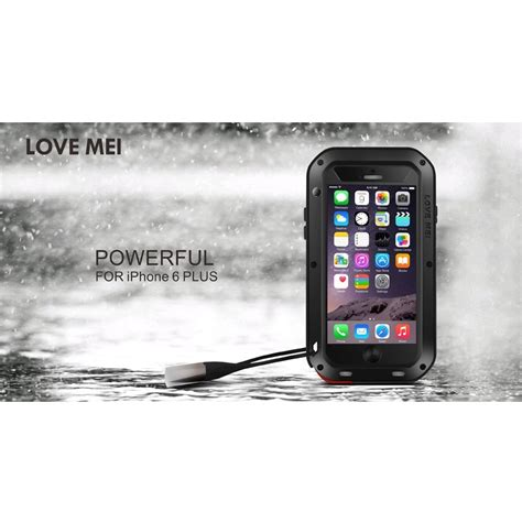 Mei Powerful For 2 3 4 mei powerful aluminium bumper for iphone 6 plus