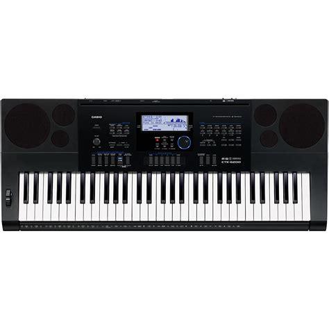 Baru Keyboard Casio Ctk 6200 casio ctk 6200 61 note portable keyboard ebay