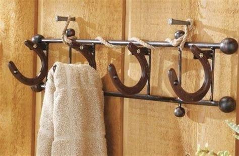 horseshoe horse shoe wall hooks hanger cowboy western