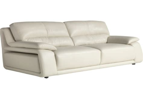 chateau leather sofa chateau d ax 100 genuine leather sofa ivory living