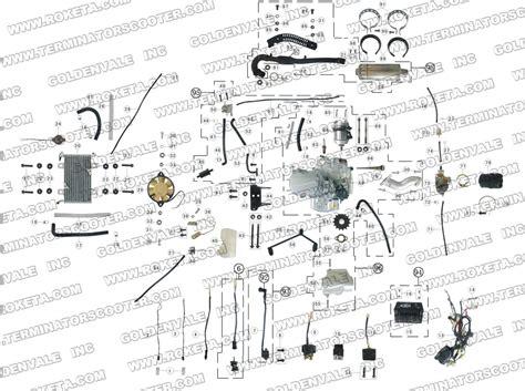 gk 01 roketa wiring diagram gk free engine image for