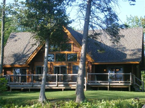 Mackinaw Cabin Rentals by Lakefront Log Home Near Mackinaw And Vrbo