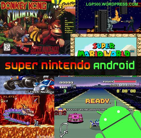 snesoid apk nintendo emulator and lg optimus one p500