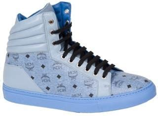 mcm kid shoes mcm carryover high top sneakers pureatlanta
