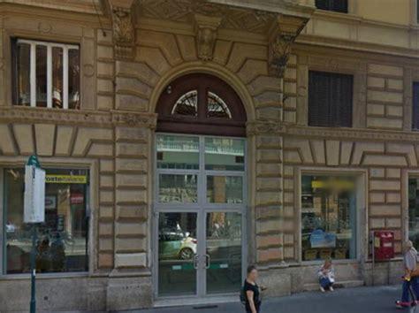 ufficio postale roma centro affezionato correntista rapina ufficio postale di via