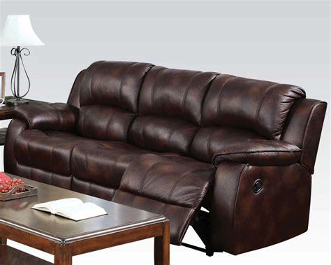 motion recliner sofa 3pc brown acme motion sofa set recliner 50510 hot