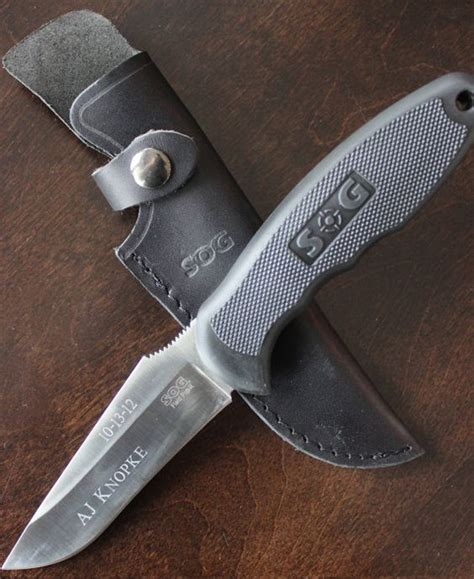 groomsmen gifts knife or cing knife by sog engravable as a groomsmen
