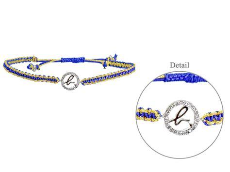Florist Gift   Agnès b. Bjioux b.logo Bracelet Tricots (Blue/Gold)   L36667589b   Give Gift