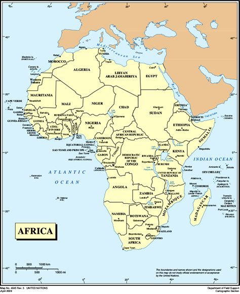 In Africa by Map Of Africa Political Map Worldofmaps Net