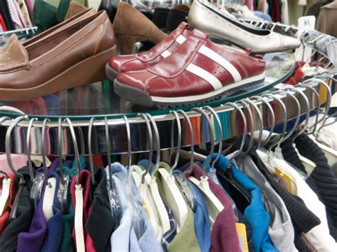 shoes and clothes for thrift store center for family services inc