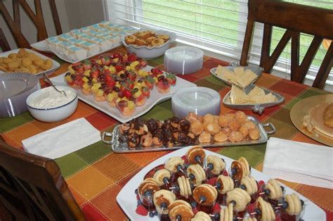 baby shower foods recipes baby shower finger food recipes the brunch food spread
