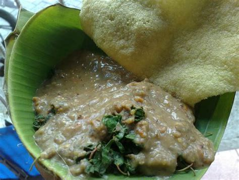 makanan tradisional   susah ditemukan