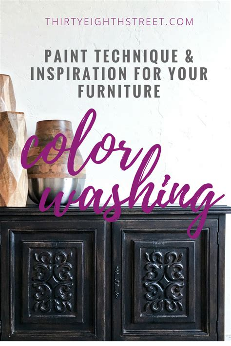 color washing how to color wash furniture easily with paint thirty