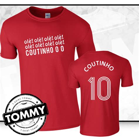 Gildan Liverpool Fans philippe coutinho liverpool fc t shirt coutinho liverpool tshirt fan t shirt ebay
