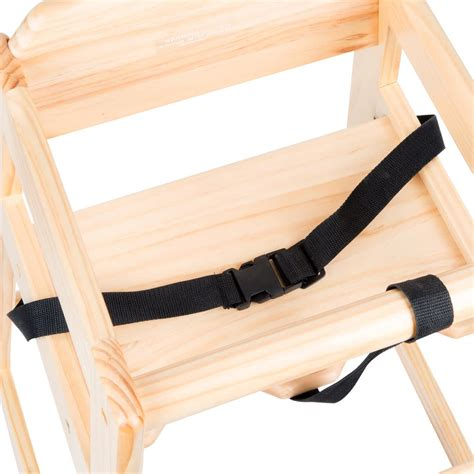 Seatbelt Chair by Lancaster Table Seating Restaurant High Chair Seat Belt