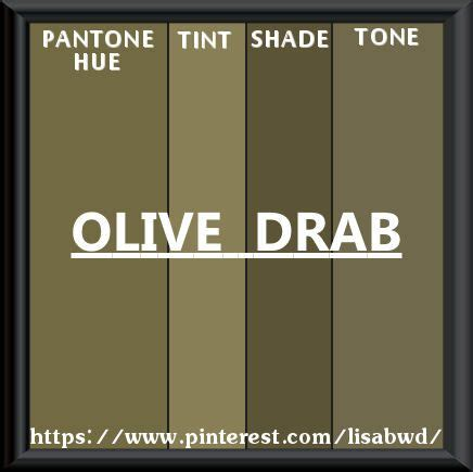 drab color pantone seasonal color swatch olive drab color thesaurus
