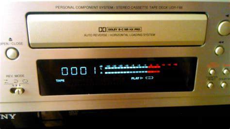 denon cassette deck denon udr f88 cassette deck