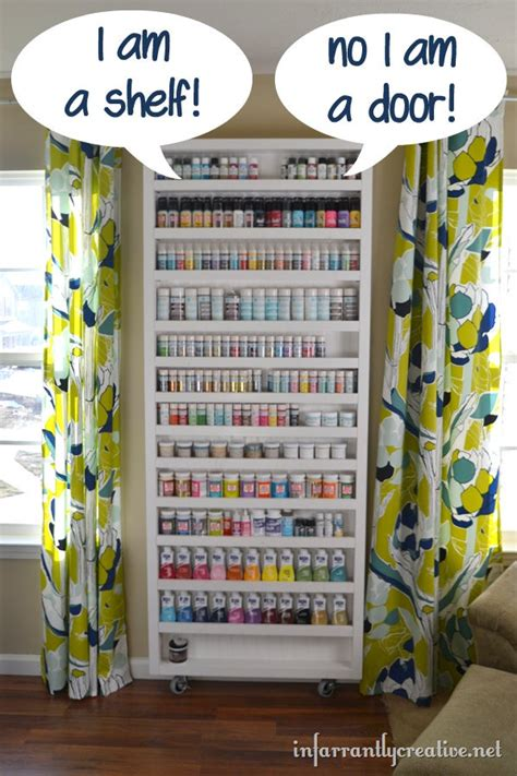 diy craft room organization ideas diy storage door craft organization ideas