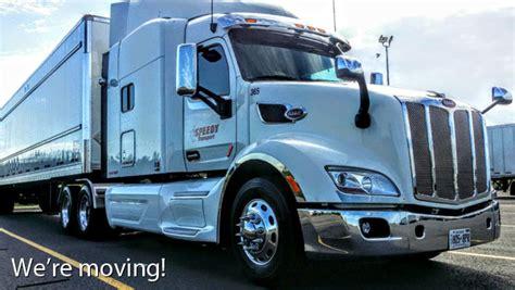 speedy siege social speedy transport ramassage compagnie de camionnage ontario