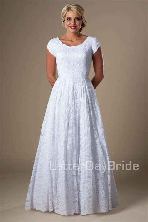 White Day Wedding Dresses by Cheap Modest Wedding Dresses Mapelton