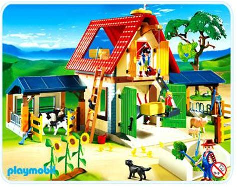 playmobil bauernhof scheune playmobil set 4490 animal farm klickypedia
