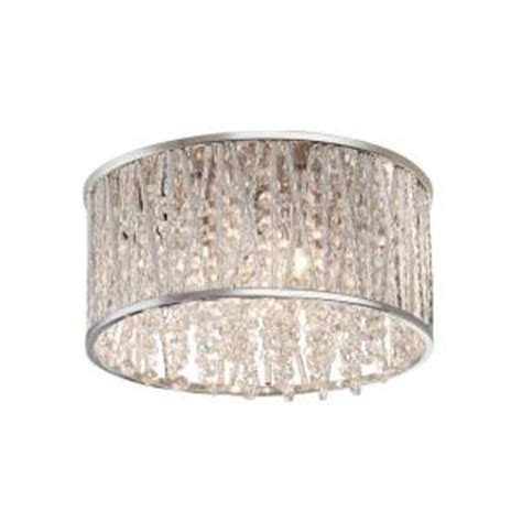 home decorators collection 3 light polished chrome and