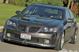Pontiac G8 Gt Accessories 2008 Pontiac G8 Gt Letting Go Gm High Tech Performance