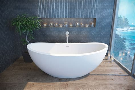 solid surface bathtubs aquatica purescape 171 freestanding solid surface bathtub