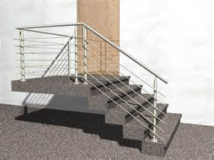 treppen mit podest gel 228 nder treppe mit podest und abschluss mit edelstahl