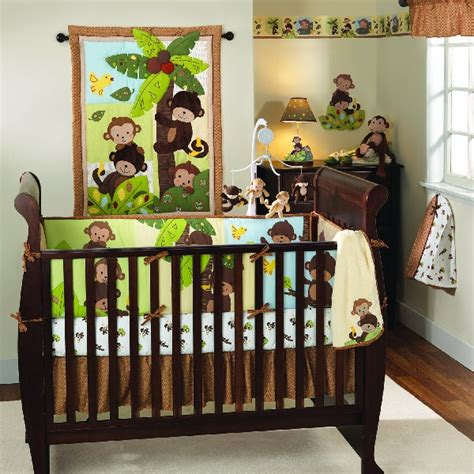 Monkey Crib Bedding Sets For Boys 30 Colorful And Contemporary Baby Bedding Ideas For Boys