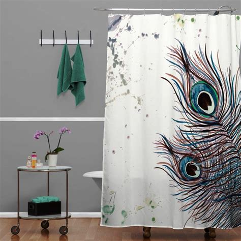 peacock design curtains peacock shower curtains in 10 colorful and eccentric