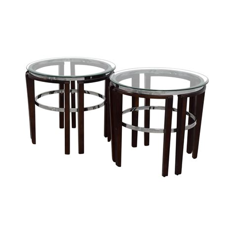 wood and glass end tables 76 glass and wood end tables tables