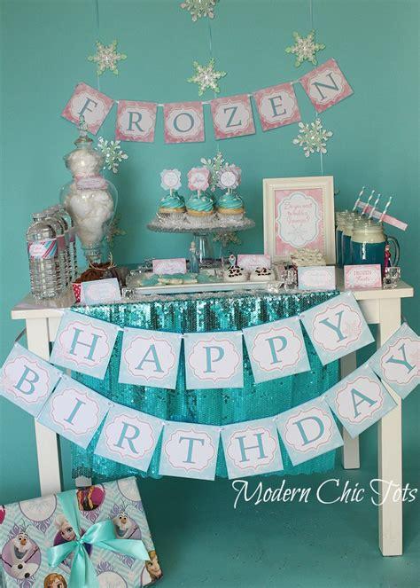 printable frozen party frozen party printable package