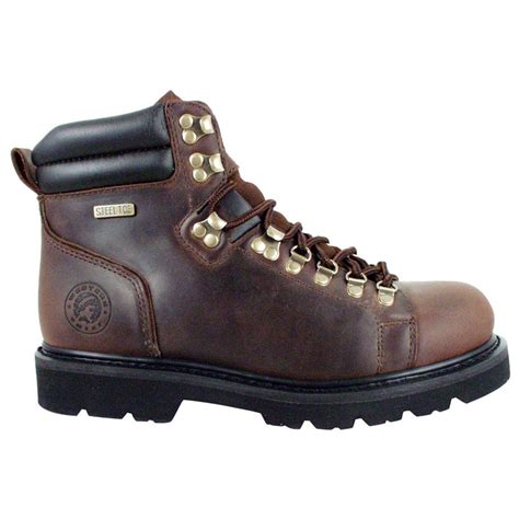 s western chief 174 steel toe 6 quot lace to toe boots
