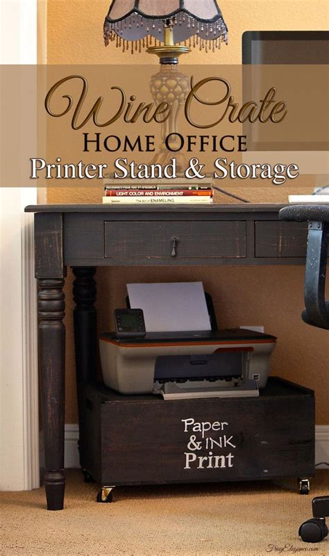 printer stand ideas 25 best ideas about printer storage on pinterest small