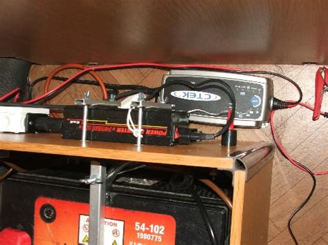lade led a batteria batterie einbau