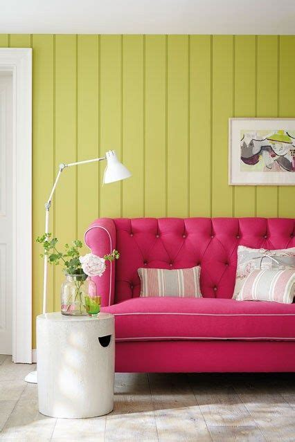ideas pink sofa design aside from the fact were always partial to some wall cladding and we