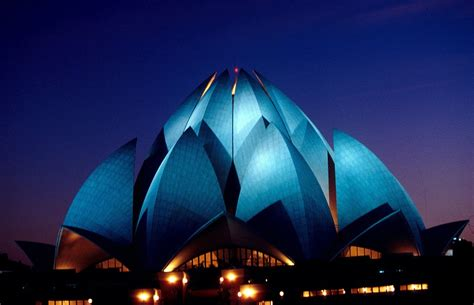 temple of lotus lotus temple new delhi india images