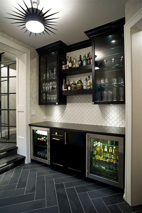 stylish basement bar decor ideas digsdigs