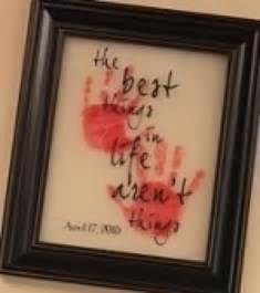 little hands crafts handprint footprint art pinterest