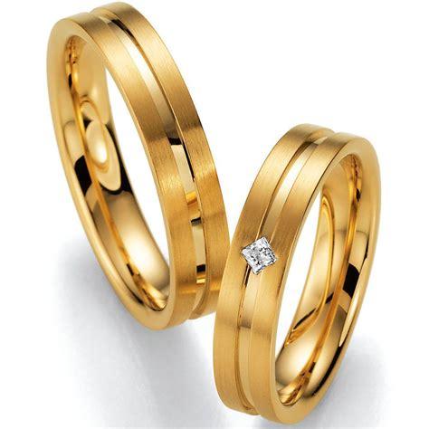 Hochzeitsringe Gelbgold by Hochzeitsringe Gelbgold Mit Princess