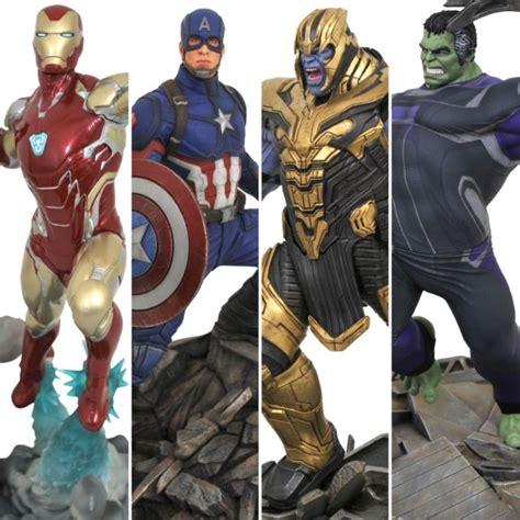 diamond select avengers endgame statues marvel gallery