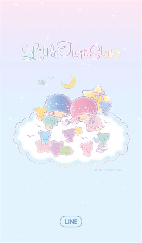 theme line little my cm hacked new line theme shop little twin stars